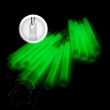 12er Pack Grün KNIXS Power-Knicklichter/Knicklicht (15cm) inkl. Spezialhaken für Outdoor und Notbeleuchtung